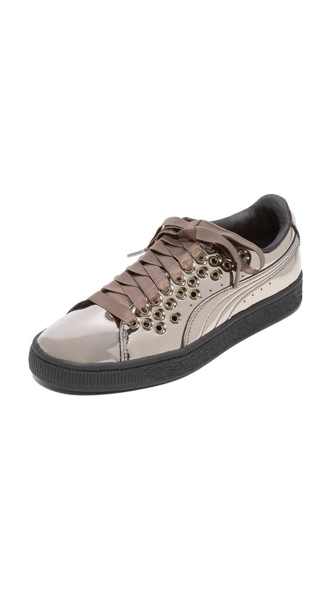 PUMA Basket XL Lace Select Sneakers - Black