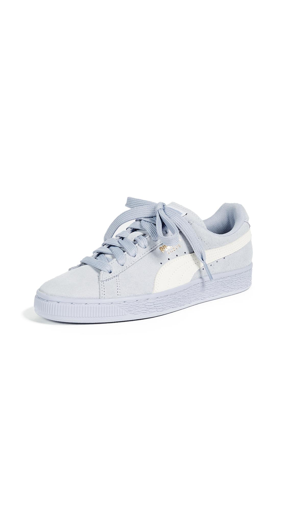 PUMA Suede Classic Sneakers - Icelandic Blue/Puma White