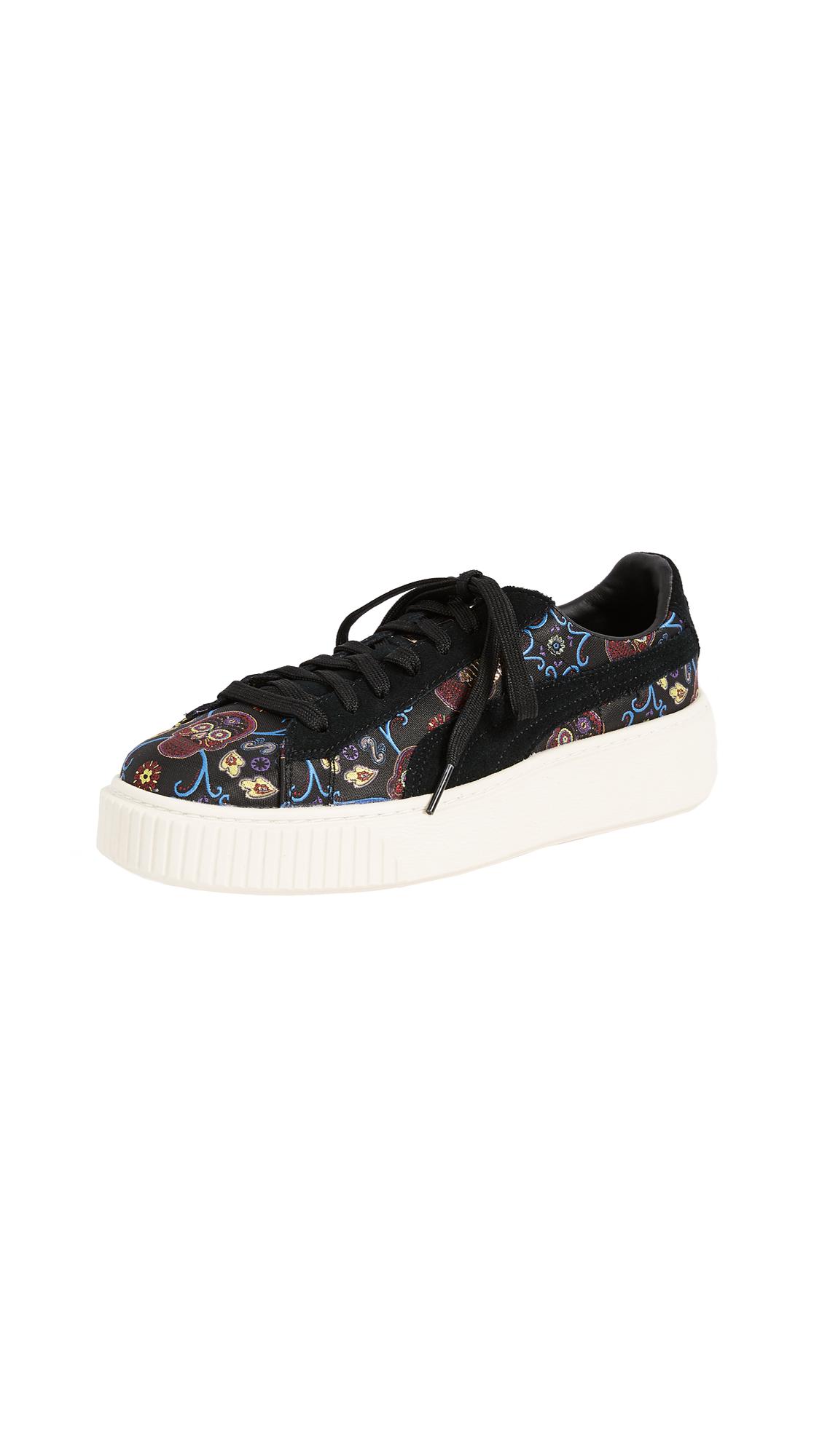 PUMA Platform Sneakers - Puma Black