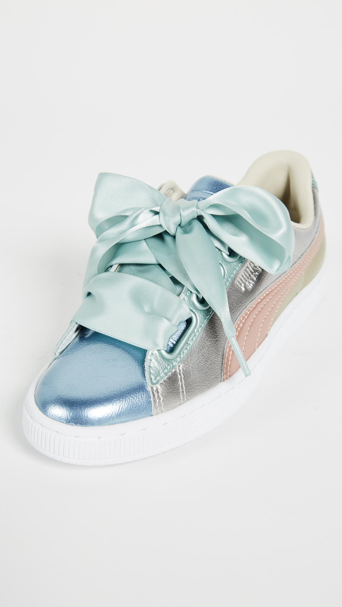 half off 7de65 ac87c PUMA Basket Heart Bauble Sneakers | SHOPBOP