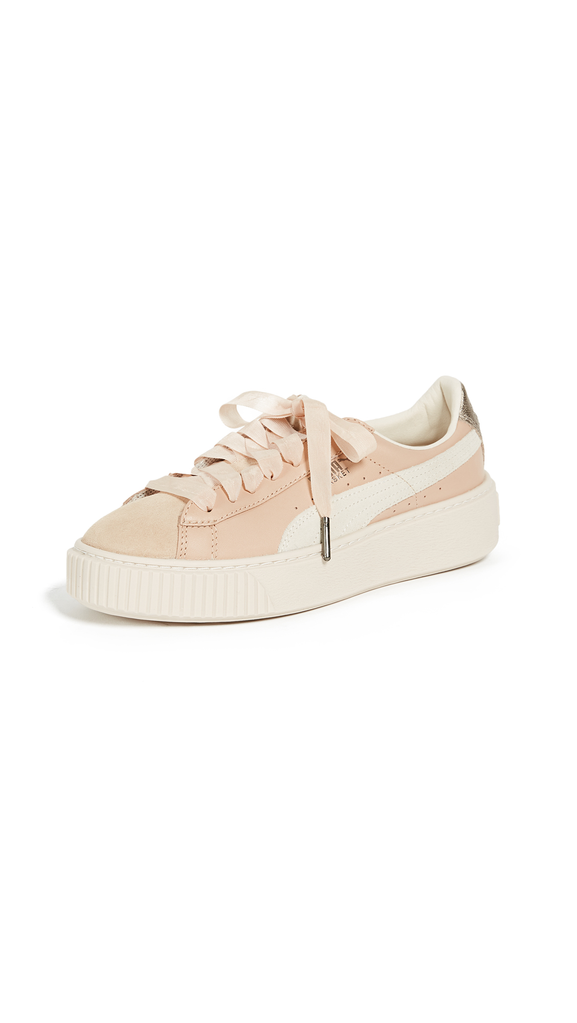 PUMA Platform Up Sneakers - Natural Vachetta/Birch