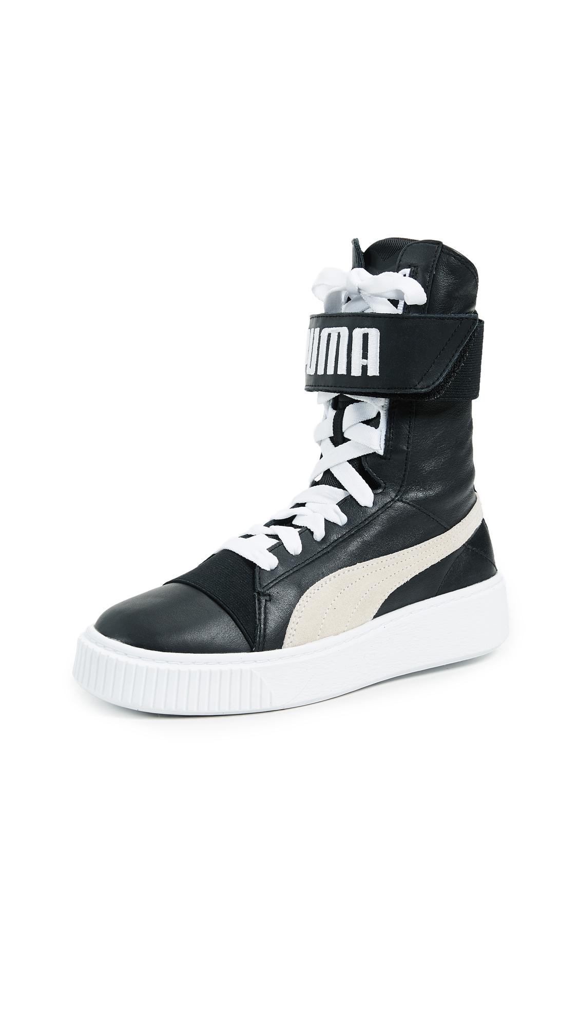PUMA Puma Platform Boots - Puma Black/Puma White