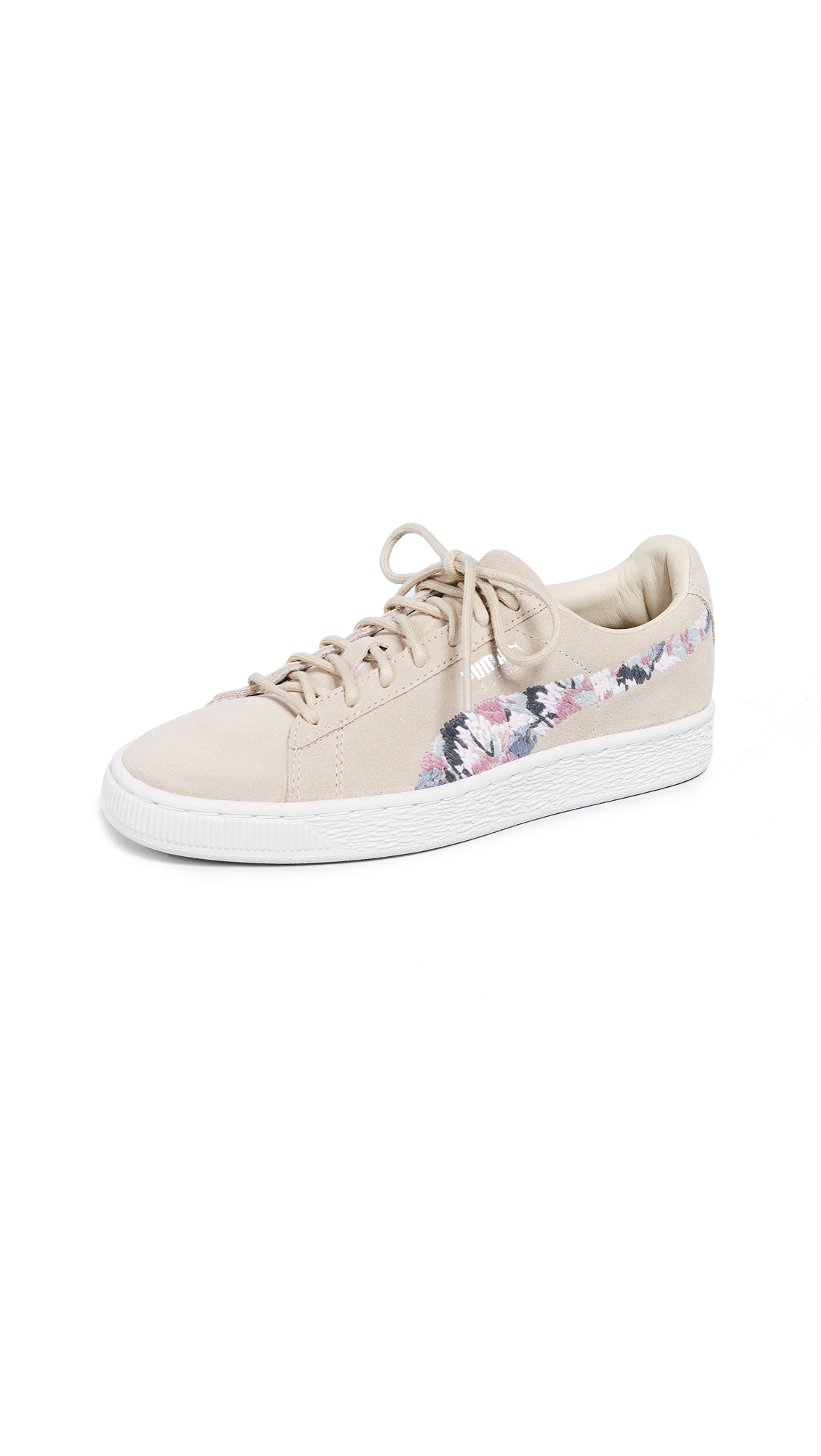 SUEDE SUNFADE STITCH SNEAKERS