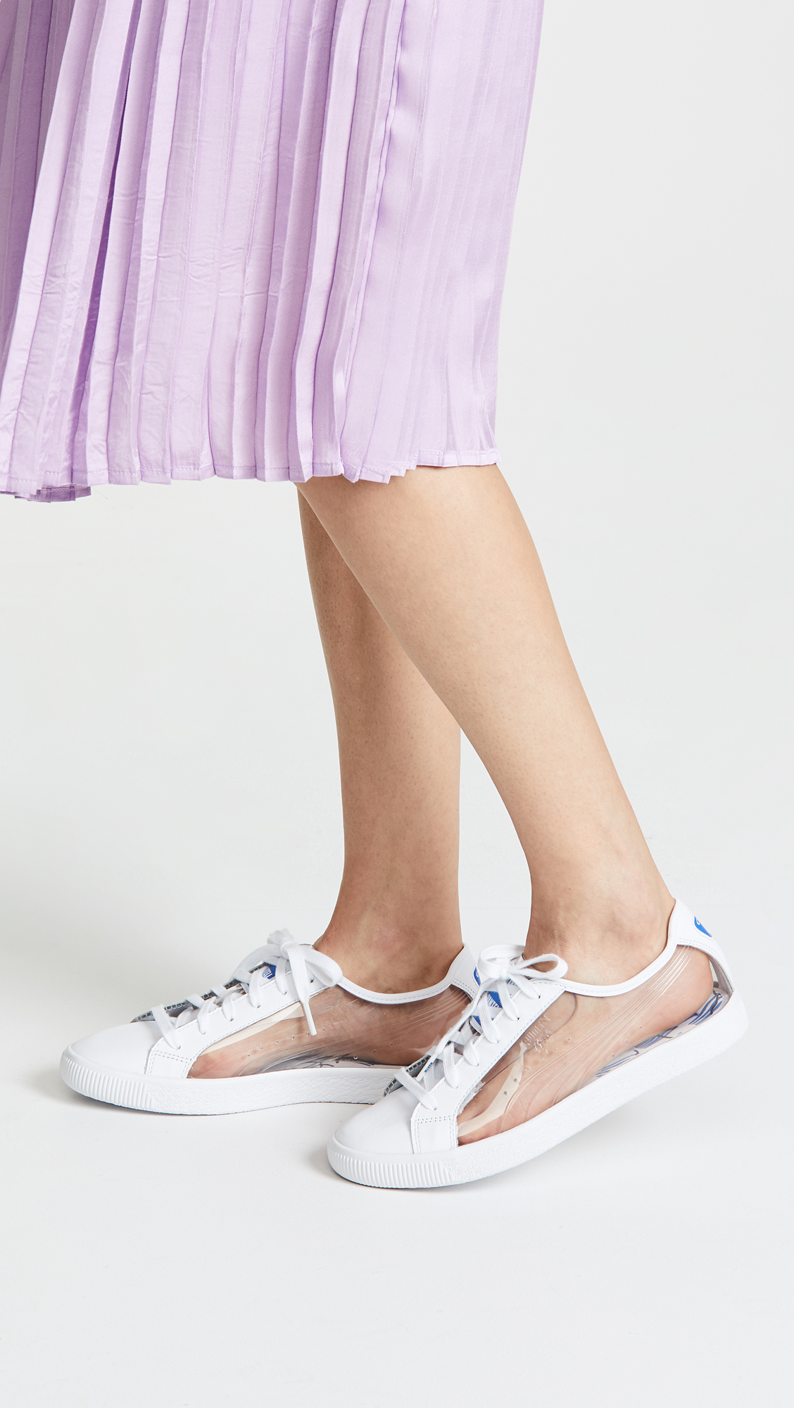 PUMA x Shantell Martin Clyde Clear Sneakers | SHOPBOP