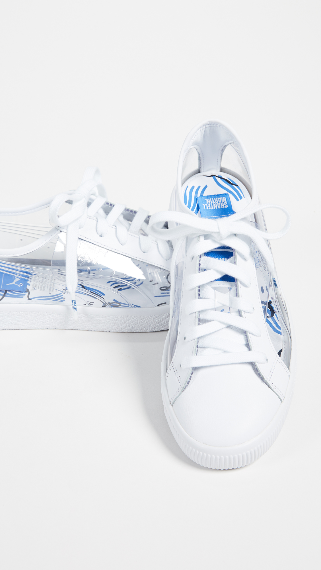 PUMA x Shantell Martin Clyde Clear Sneakers  634849e7b