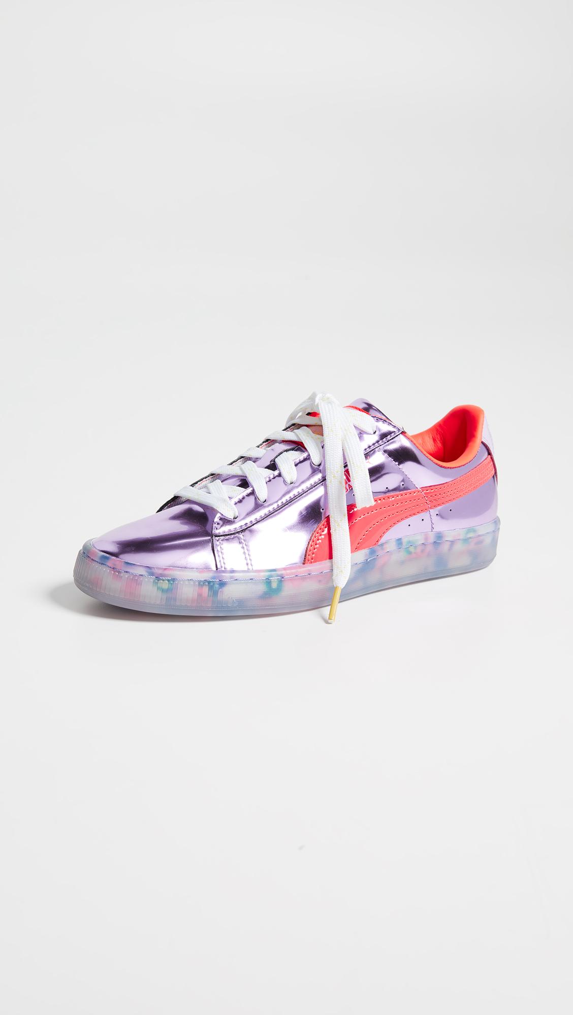 5d66a3d6e57b PUMA x Sophia Webster Basket Candy Princess Sneakers