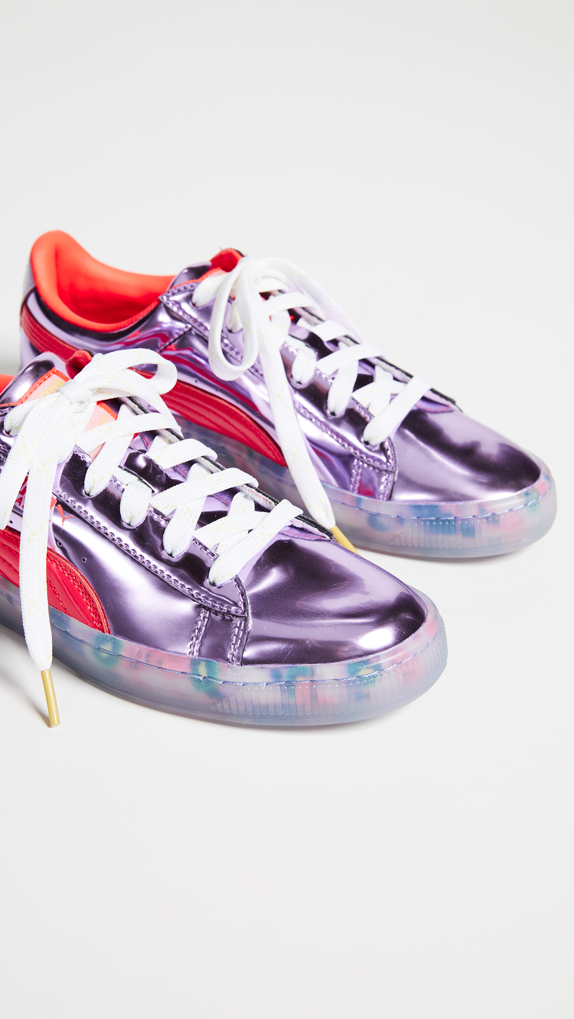 ed40169a34c PUMA x Sophia Webster Basket Candy Princess Sneakers