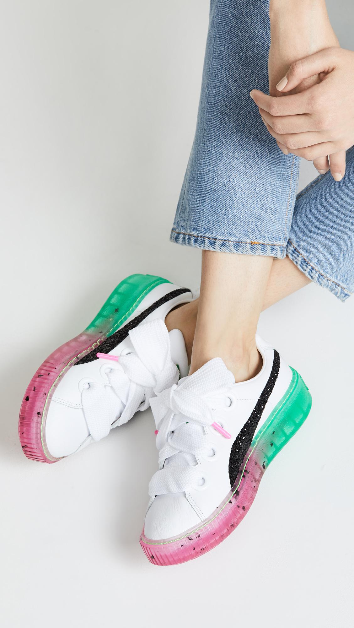 PUMA x Sophia Webster Platform Candy Princess Sneakers  aa3ba278f