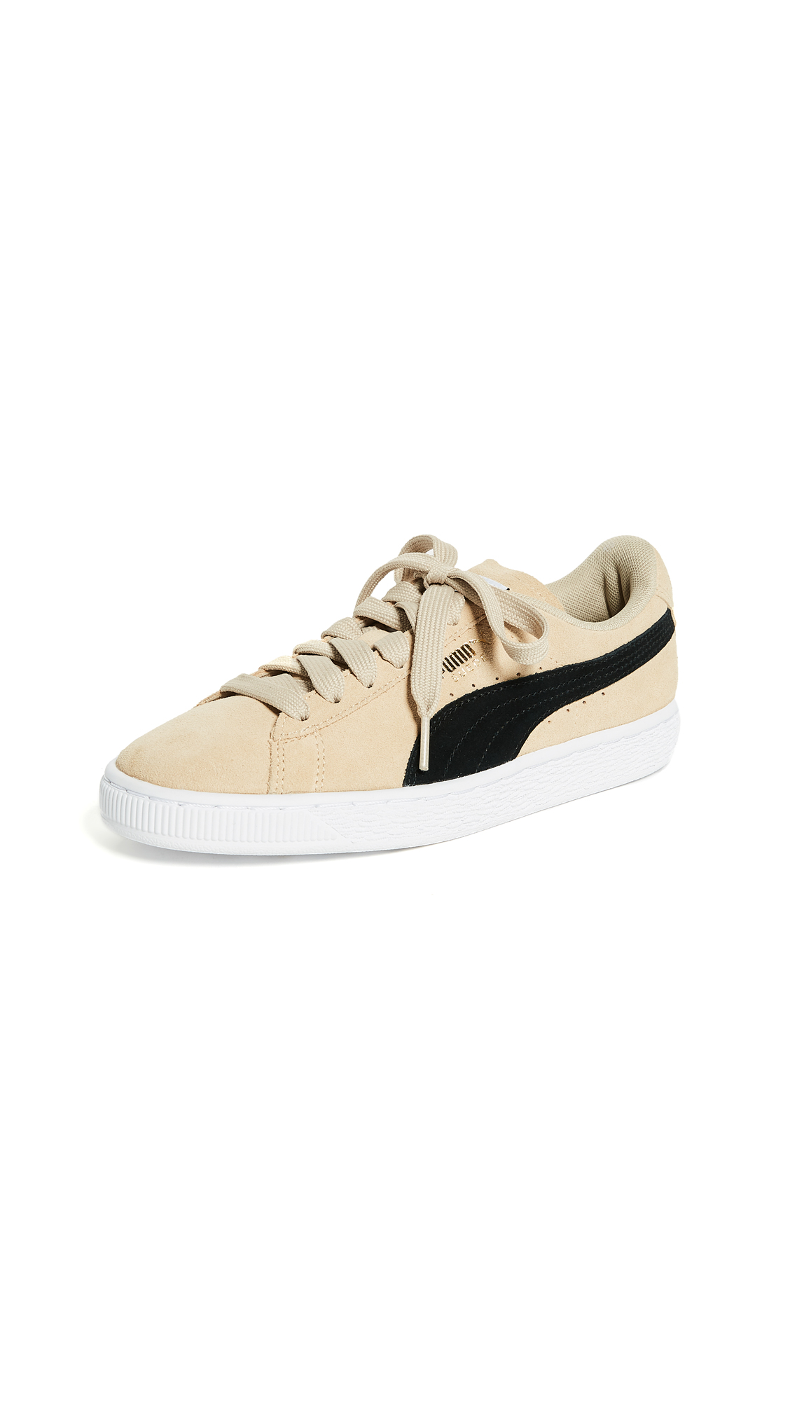 PUMA Suede Classic Sneakers - Pebble/Puma Black