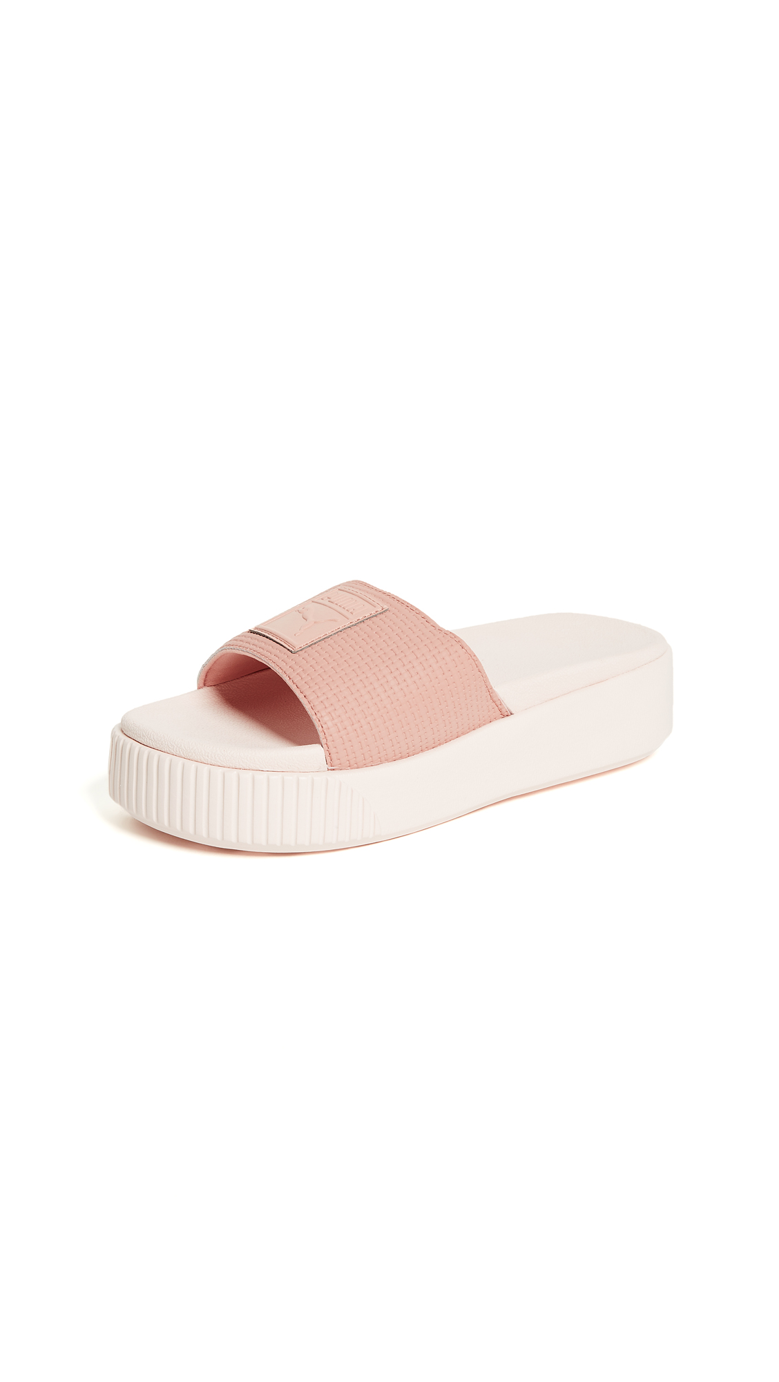 WOMEN'S PLATFORM POOL SLIDE SANDALS