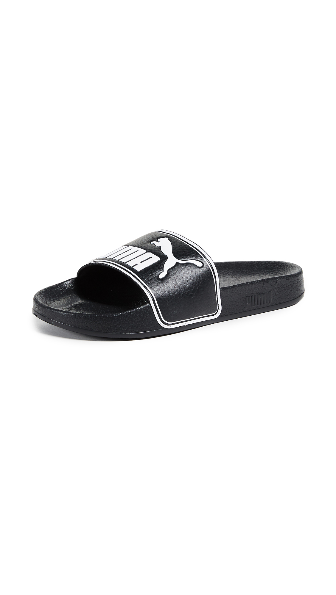 PUMA Leadcat Slides - Puma Black/Puma White