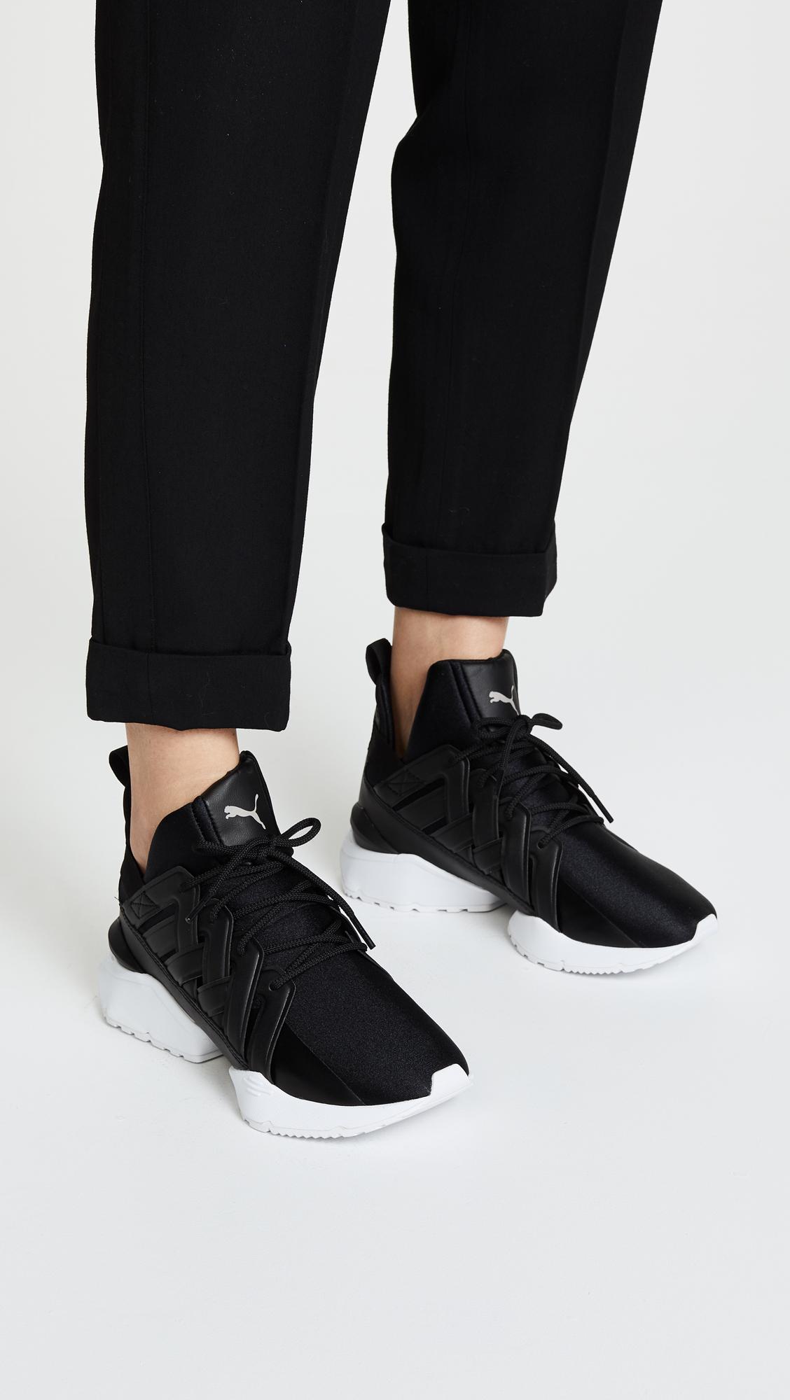 1d415ea5274 PUMA Muse Echo Satin EP Sneakers