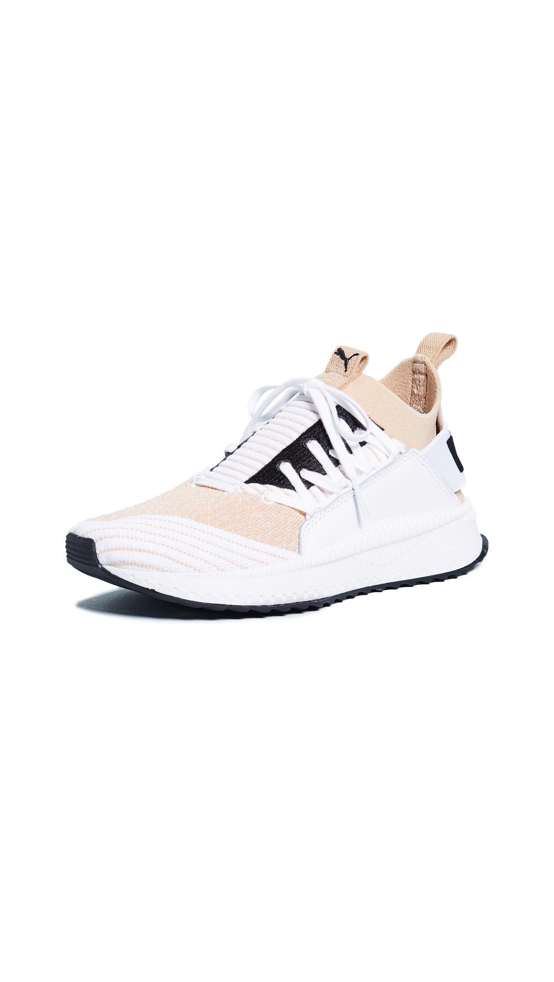 PUMA TSUGI Jun Sneakers - Pebble/Puma White/Puma White