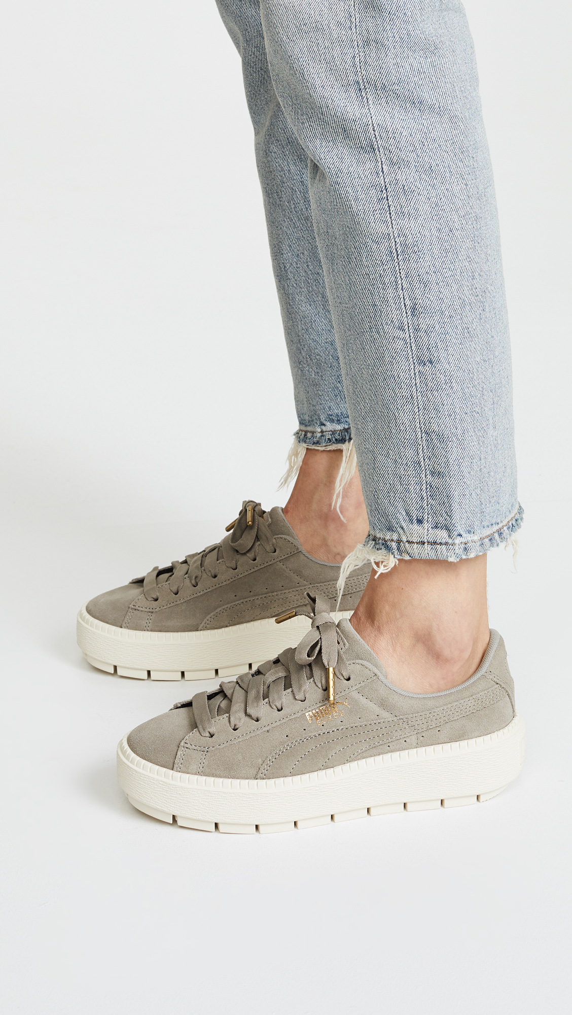 PUMA Suede Platform Trace Sneakers  be4f09616