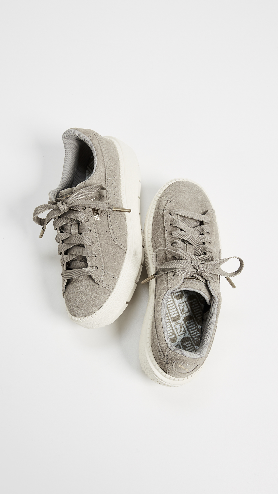 66031a3eacf PUMA Suede Platform Trace Sneakers