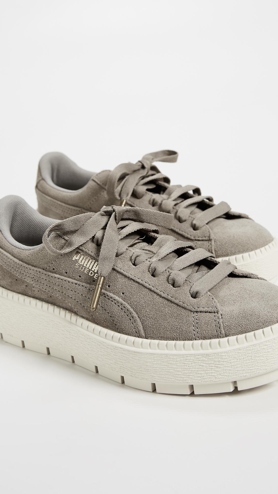 f3995ed97834 PUMA Suede Platform Trace Sneakers