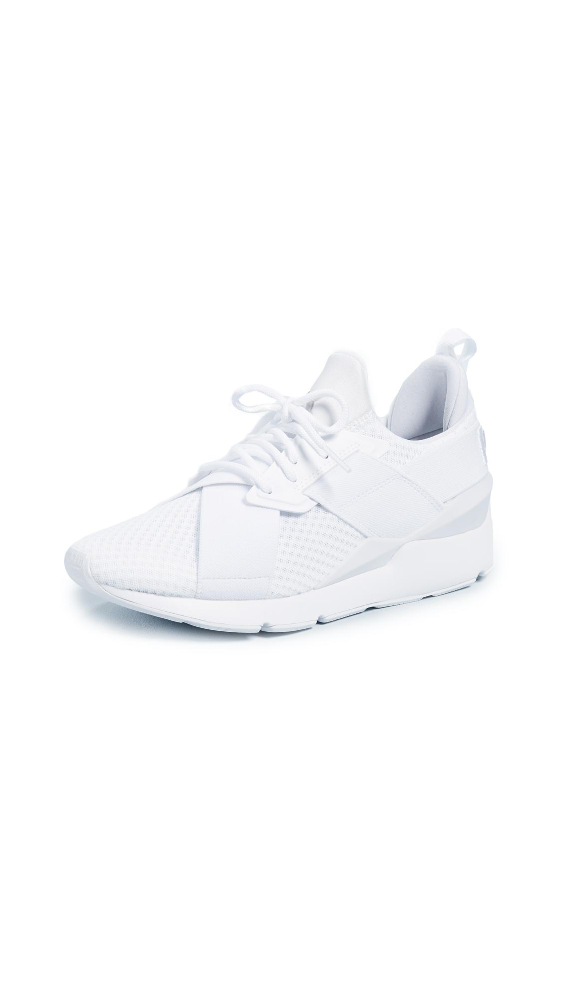 Women'S Muse Ep Slip-On Sneakers, Puma White/Puma White