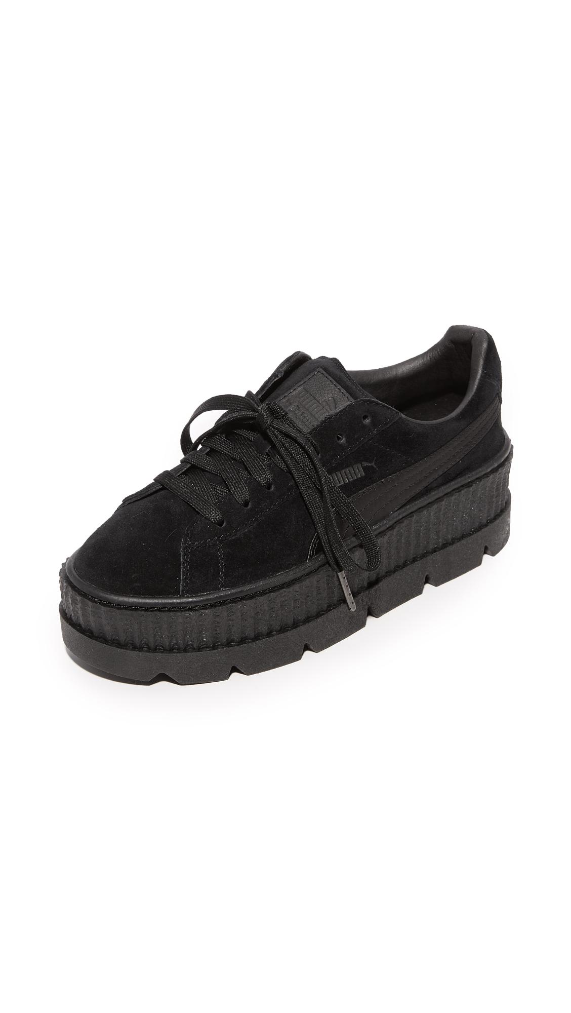 PUMA FENTY x PUMA Cleated Sneakers - Puma Black
