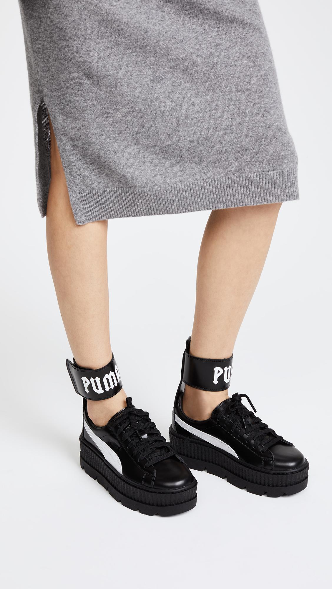 3166fb4bed9f PUMA FENTY x PUMA Ankle Strap Sneakers