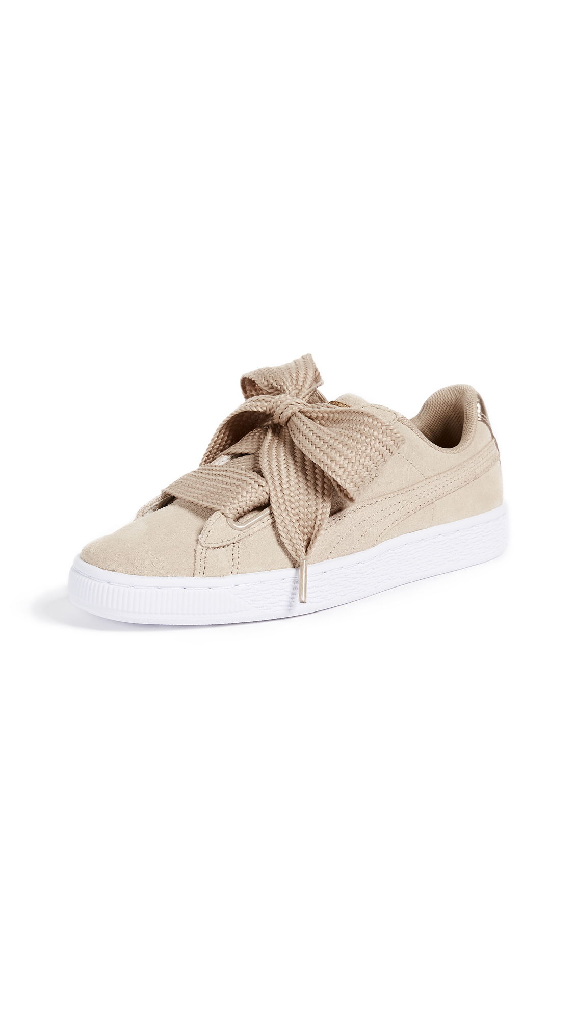 PUMA Basket Heart Safari Sneakers - Safari/Safari