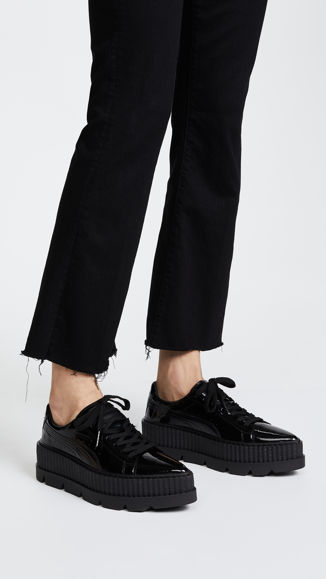puma creepers pointed
