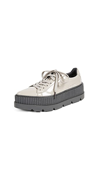 PUMA FENTY x PUMA Pointy Creeper Sneakers In Dove/Glacier Grey