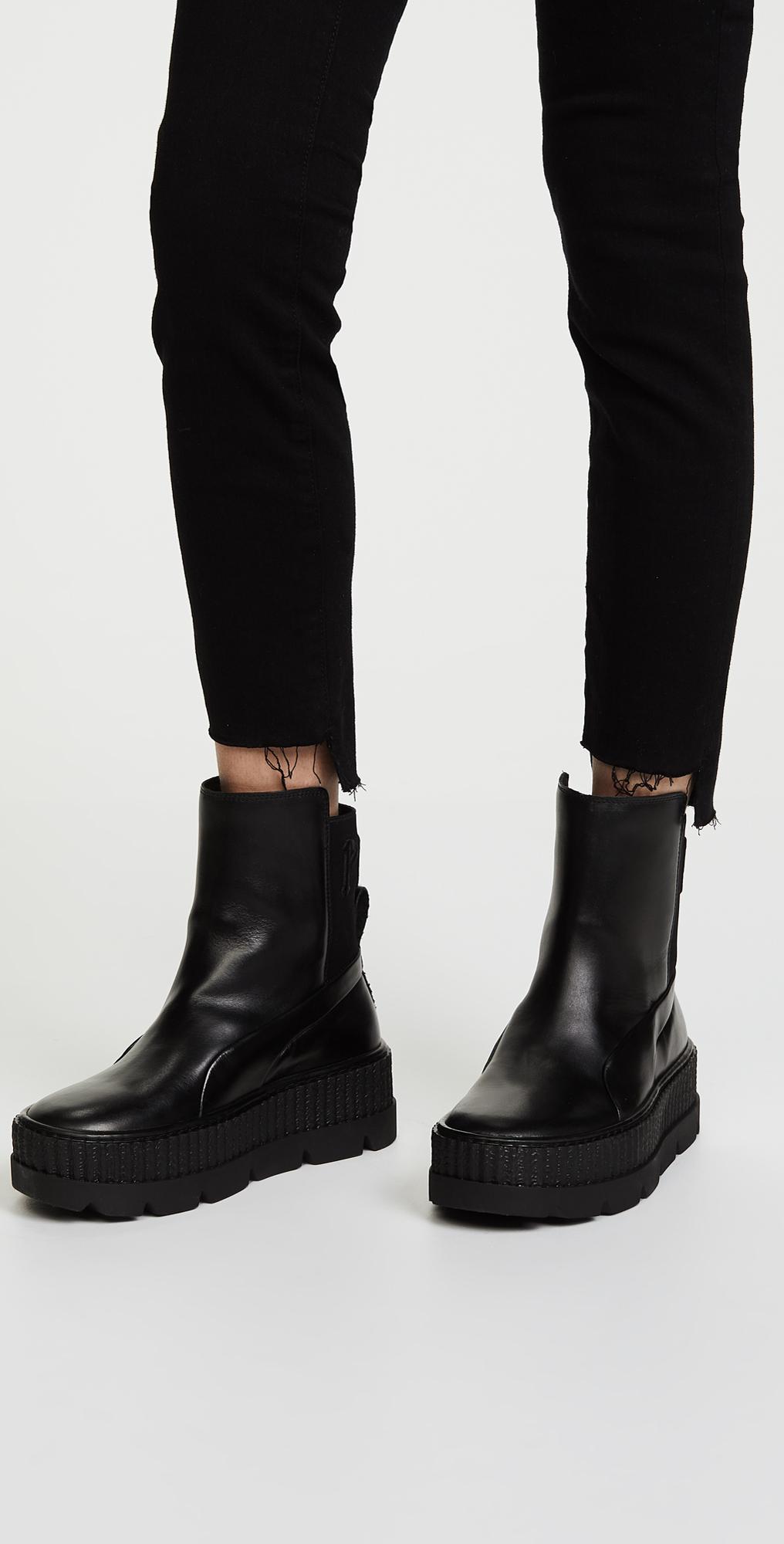 c4f447d4dd71 PUMA FENTY x PUMA Chelsea Sneaker Boots