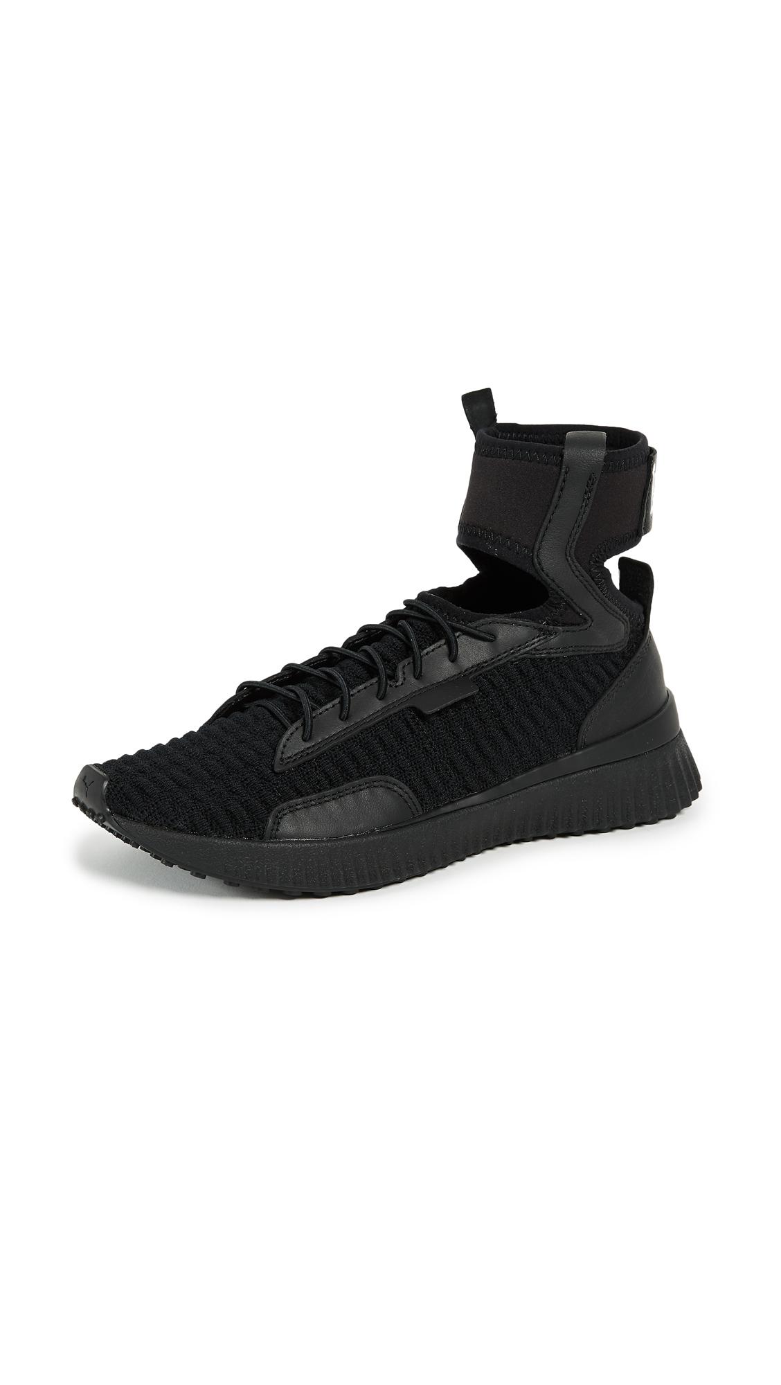 PUMA FENTY x PUMA Trainer Mid Sneakers - Puma Black/Puma White