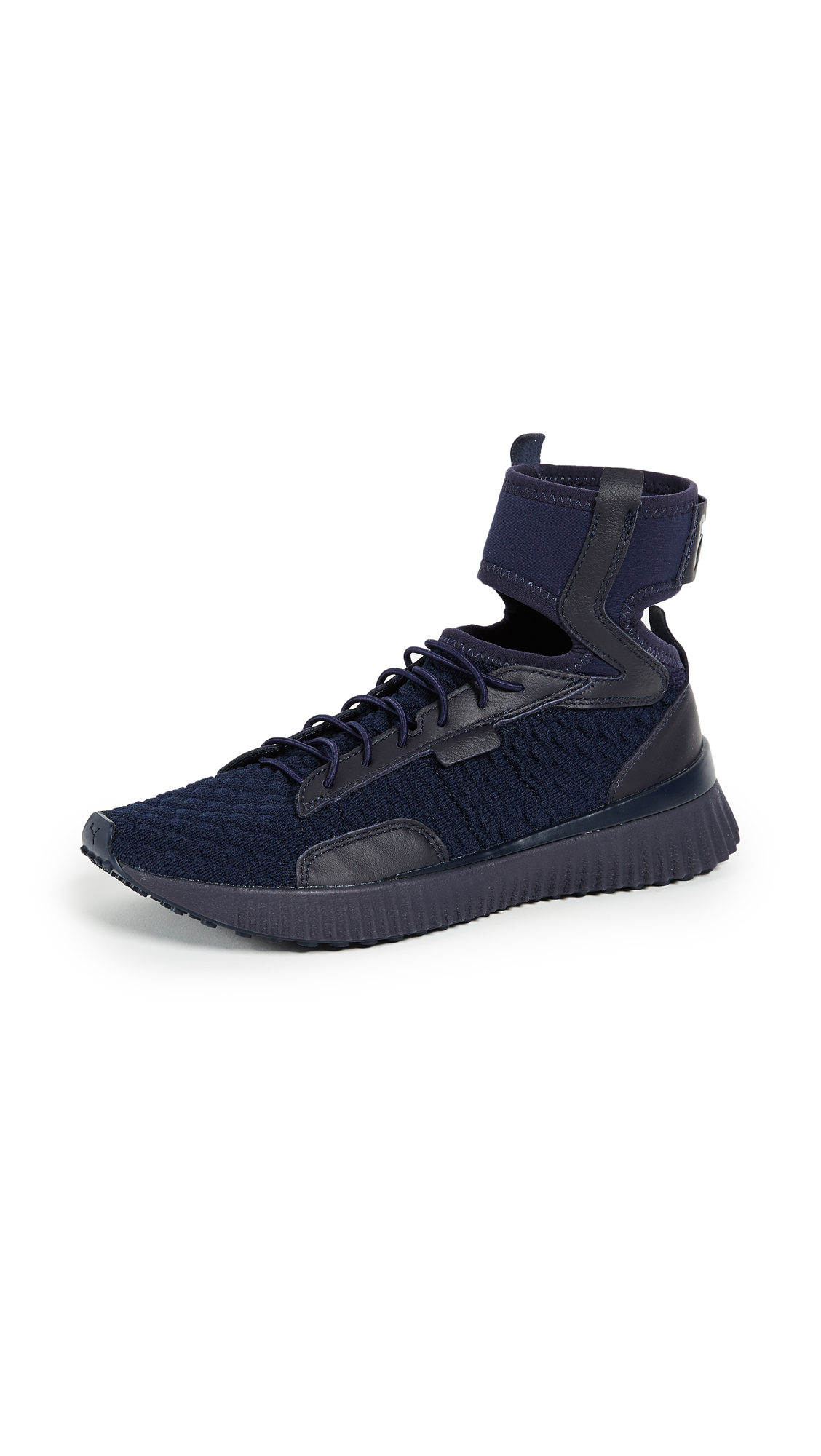 PUMA FENTY x PUMA Trainer Mid Geo Sneakers - Evening Blue/Puma Black