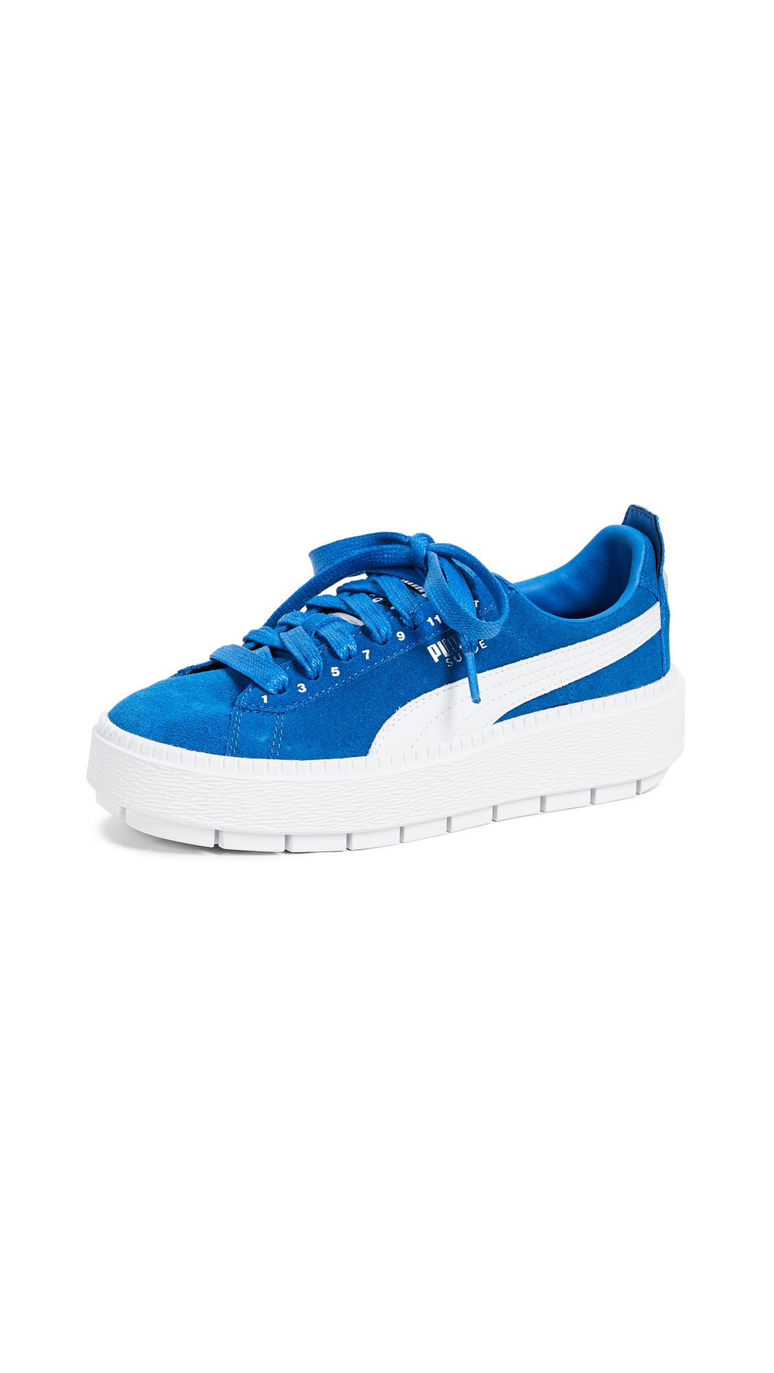 PUMA x Ader Error Platform Sneakers - Lapis Blue