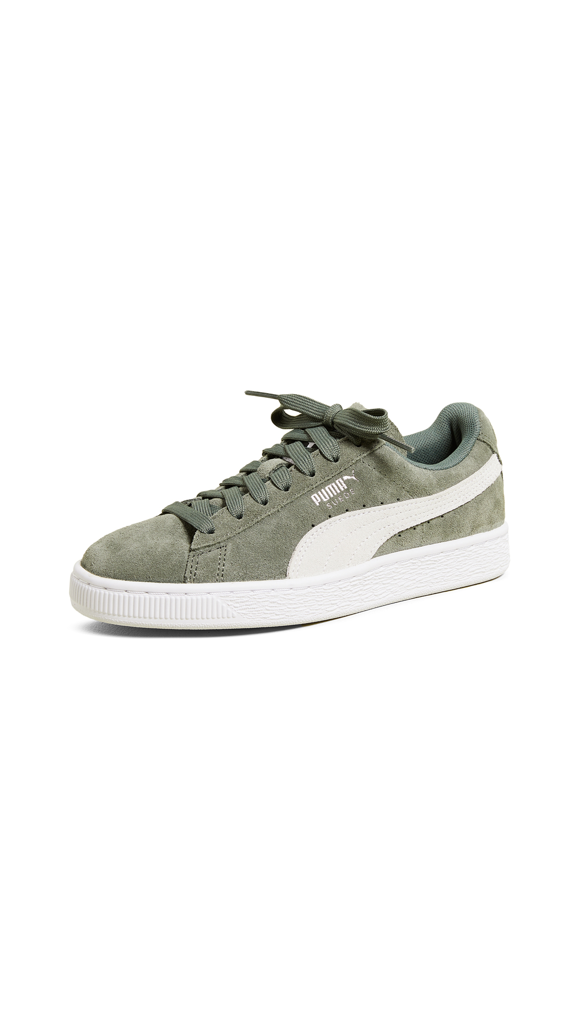 PUMA Suede Classic Sneakers - Laurel Wreath/Puma White