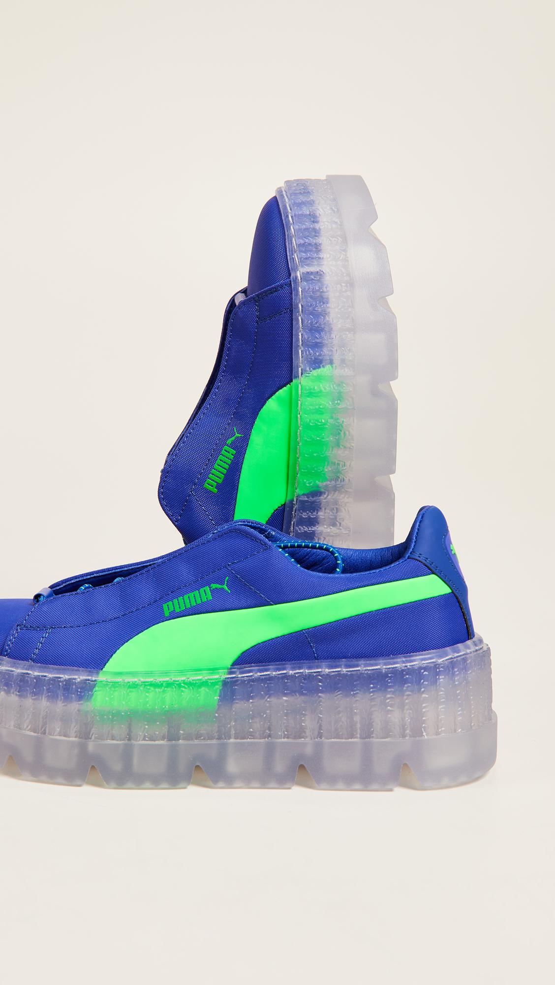 5797585b19b01f PUMA FENTY x PUMA Cleated Surf Creeper Sneakers