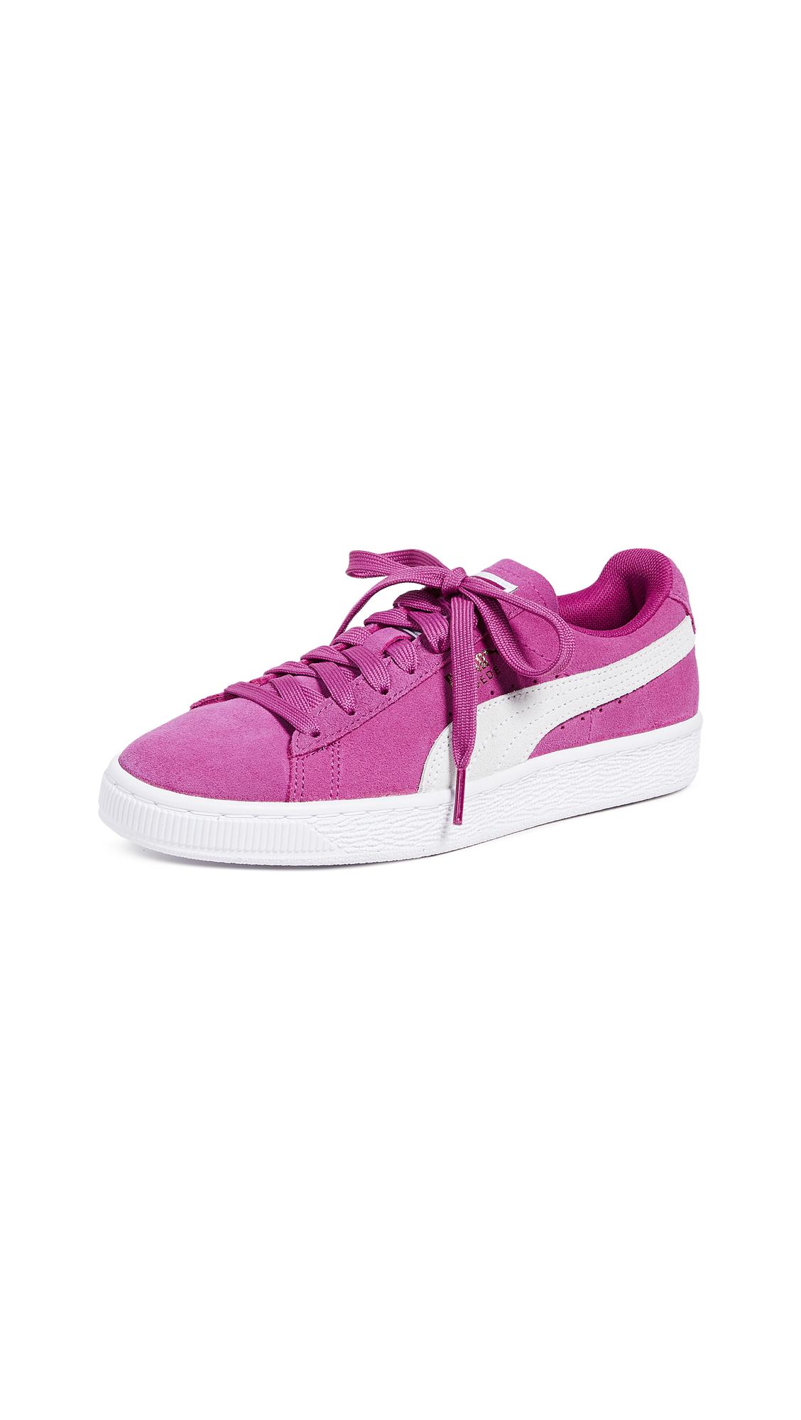 PUMA Suede Classic Sneakers - Magenta Haze/Puma White