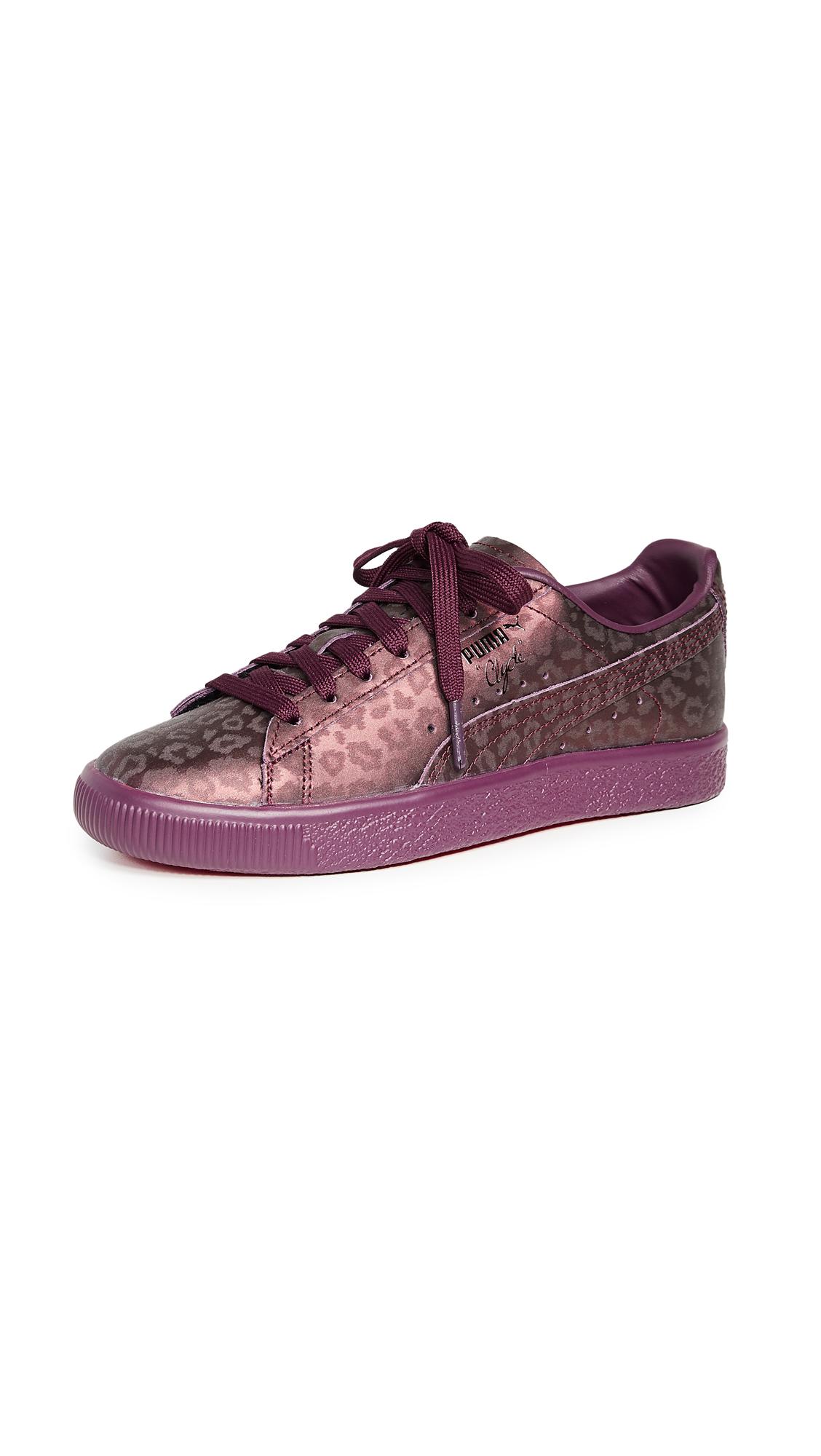 PUMA Clyde Sheer Animal Sneakers