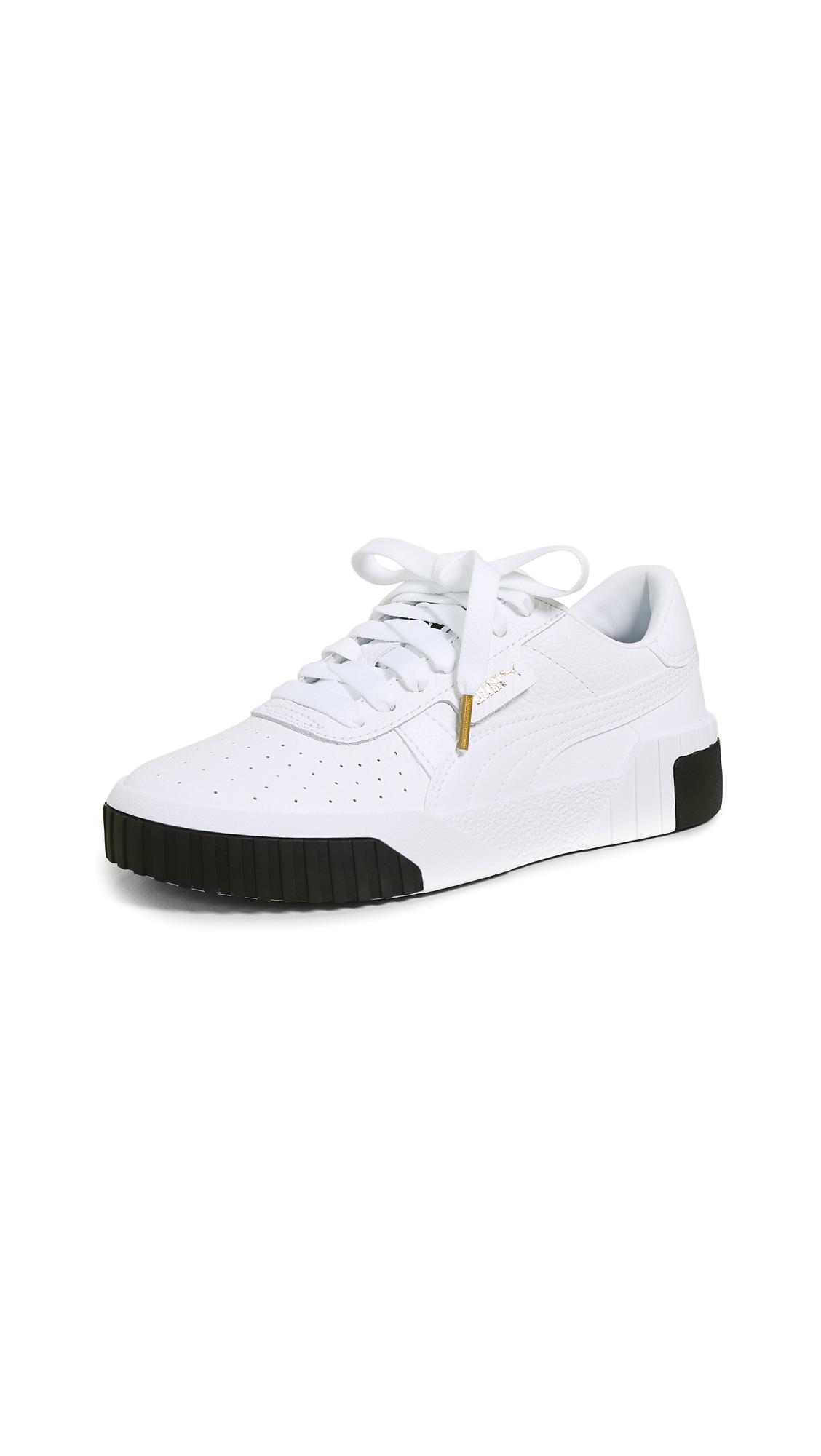 PUMA Cali Fashion Sneakers - Puma White/Puma White
