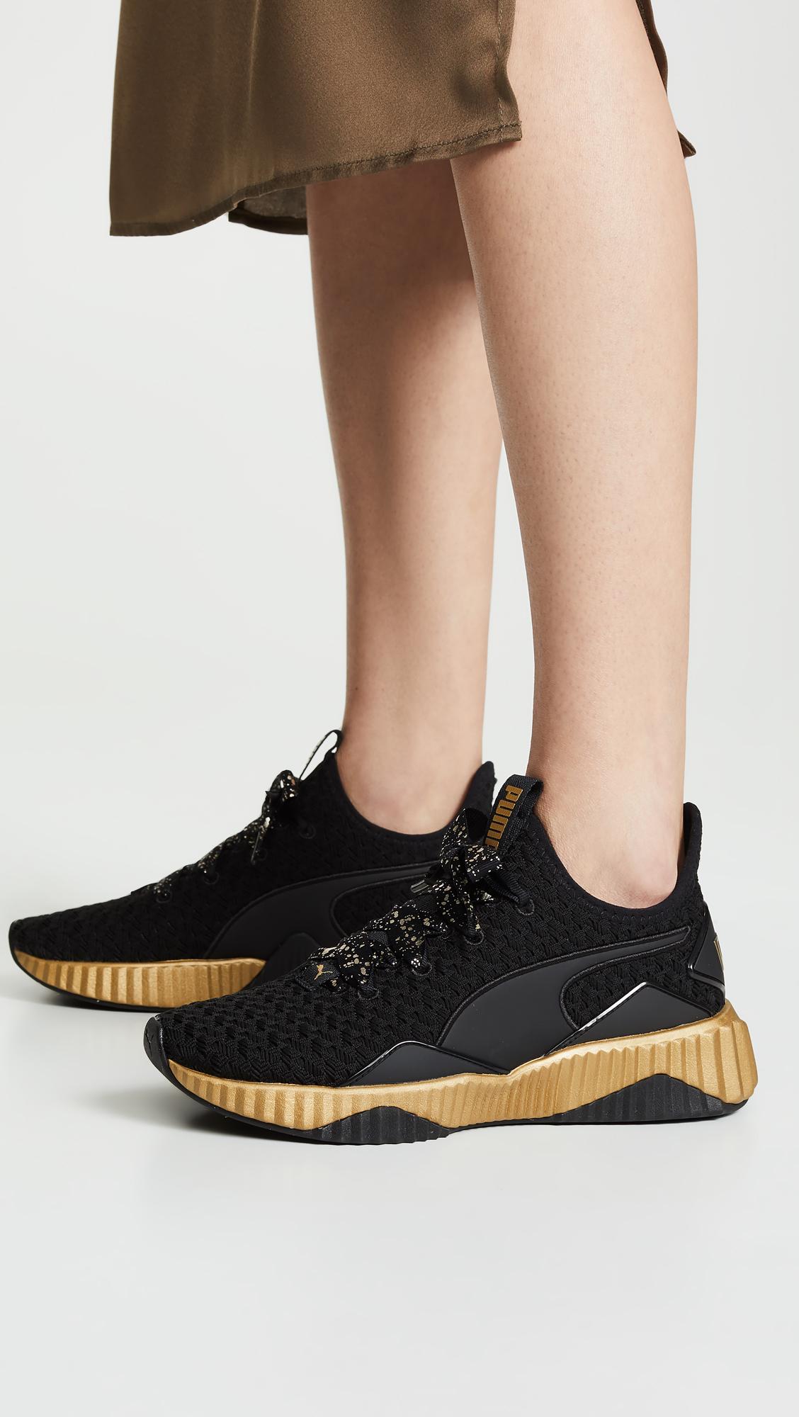 PUMA Defy Sparkle Sneakers  66eee7c5b