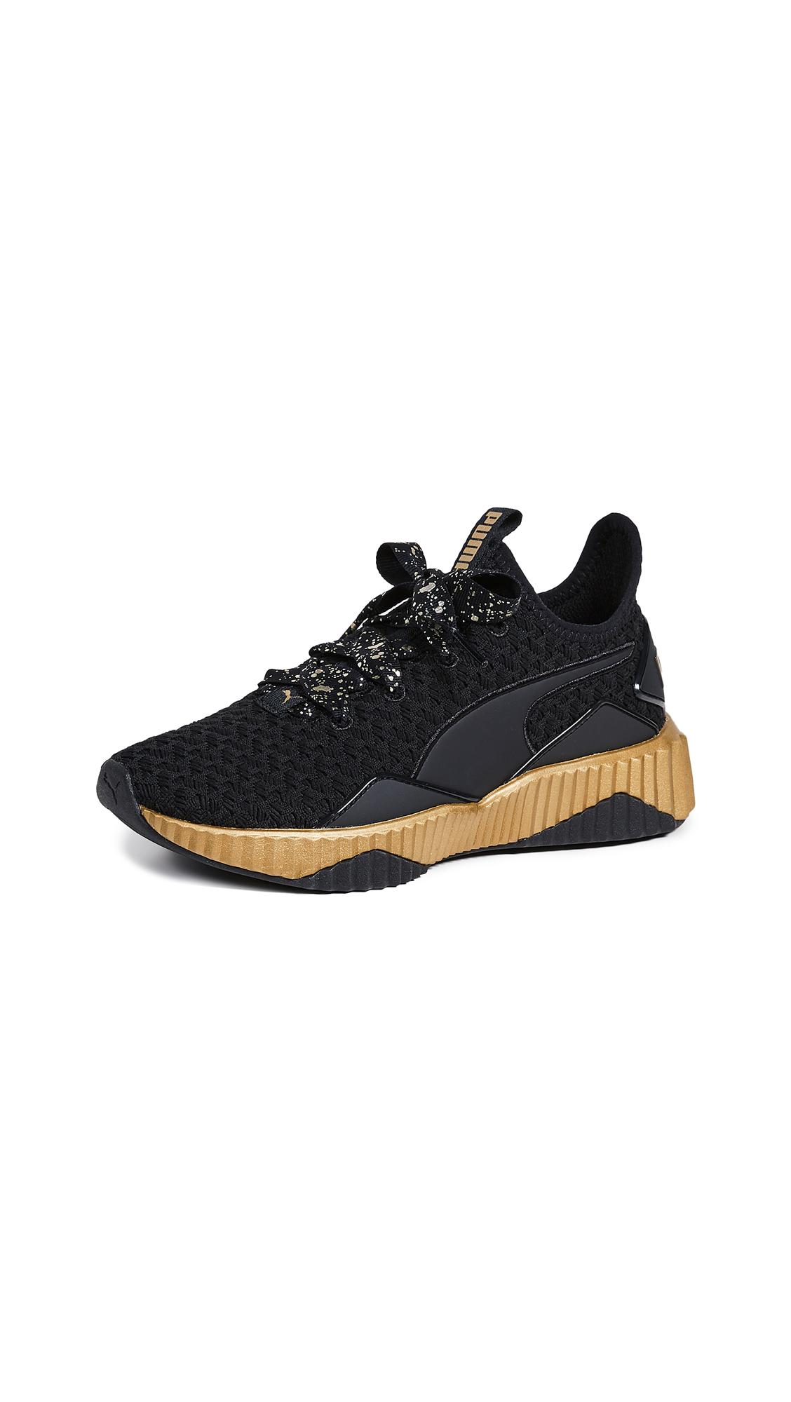 PUMA Defy Sparkle Sneakers - Puma Black/Puma Team Gold