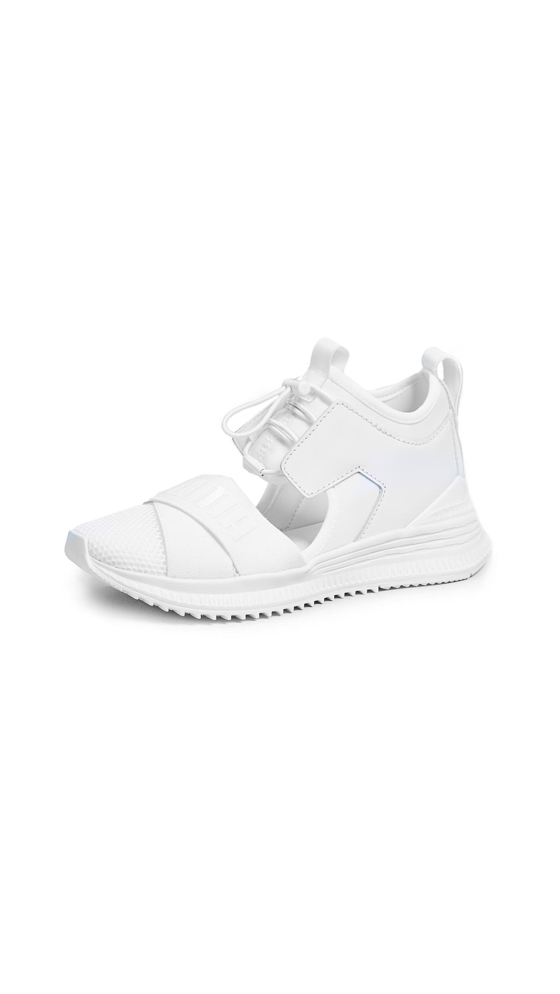 PUMA x FENTY Avid Sneakers - Puma White/Drizzle/Puma White