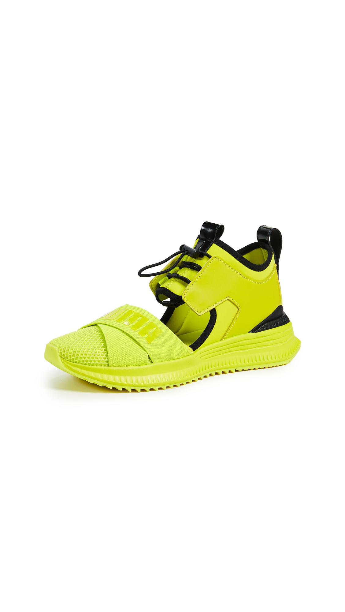 PUMA x FENTY Avid Sneakers - Limepunch/Puma Black