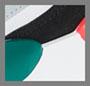 Puma White/Teal Green