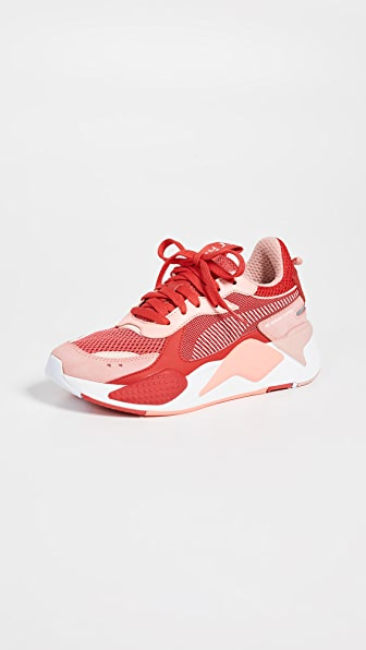 Puma Women's Rs Toys Leather & Mesh Low Top Sneakers In Bright Peach/High Risk