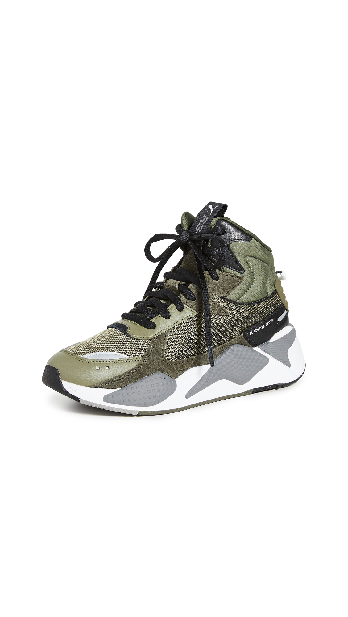 Buy PUMA online - photo of PUMA RS-X Midtop Utility Sneakers