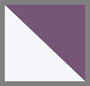 白色/灰色/紫色