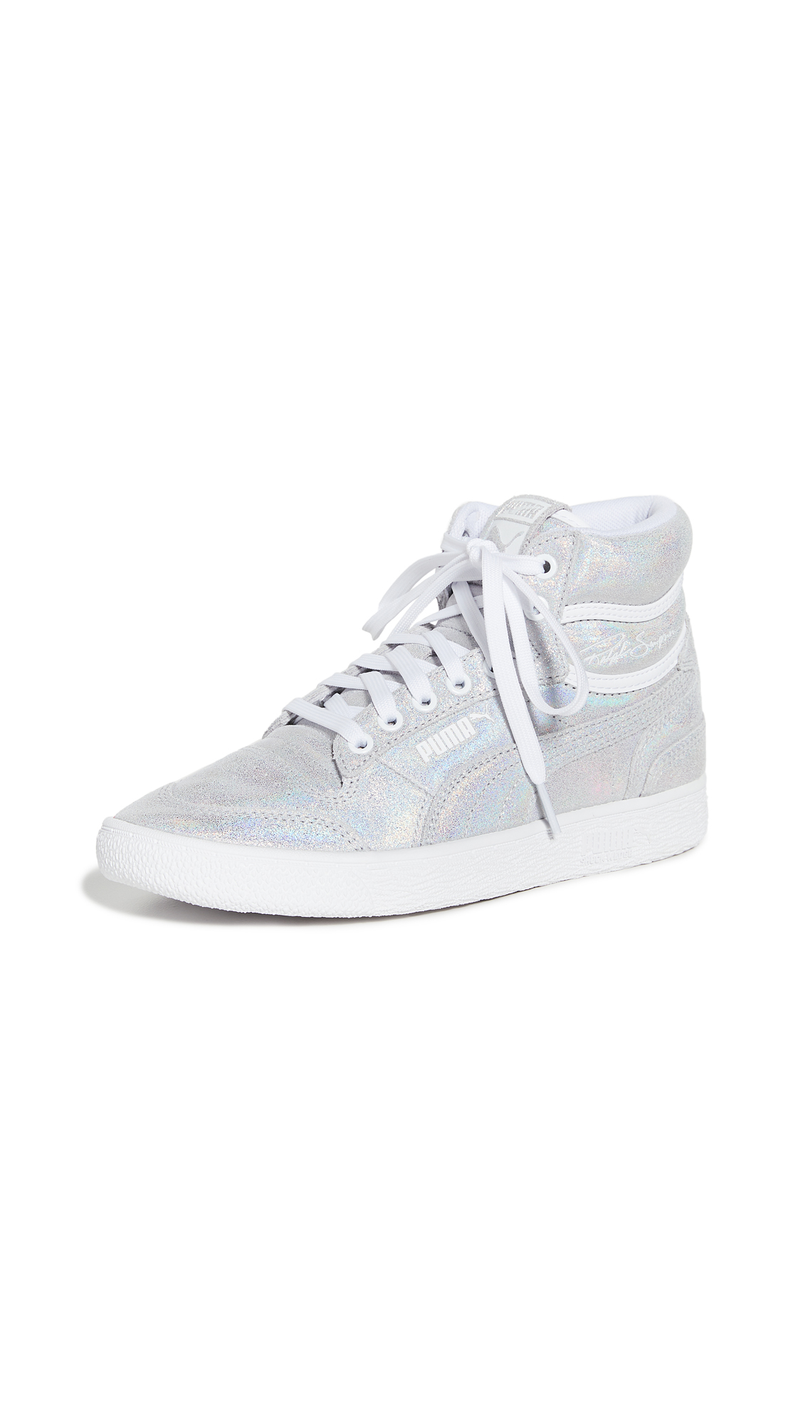 PUMA Ralph Sampson Mid Winter Glimmer Sneakers – 60% Off Sale