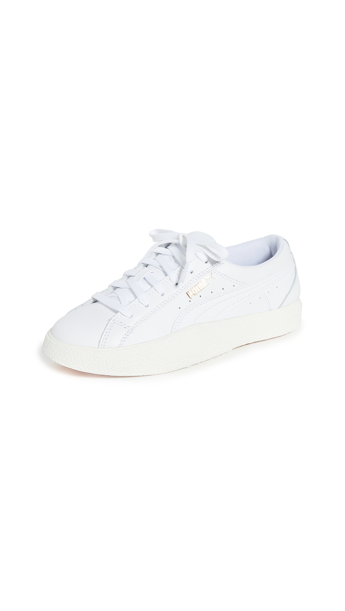 Buy PUMA online - photo of PUMA Love Leather Sneakers