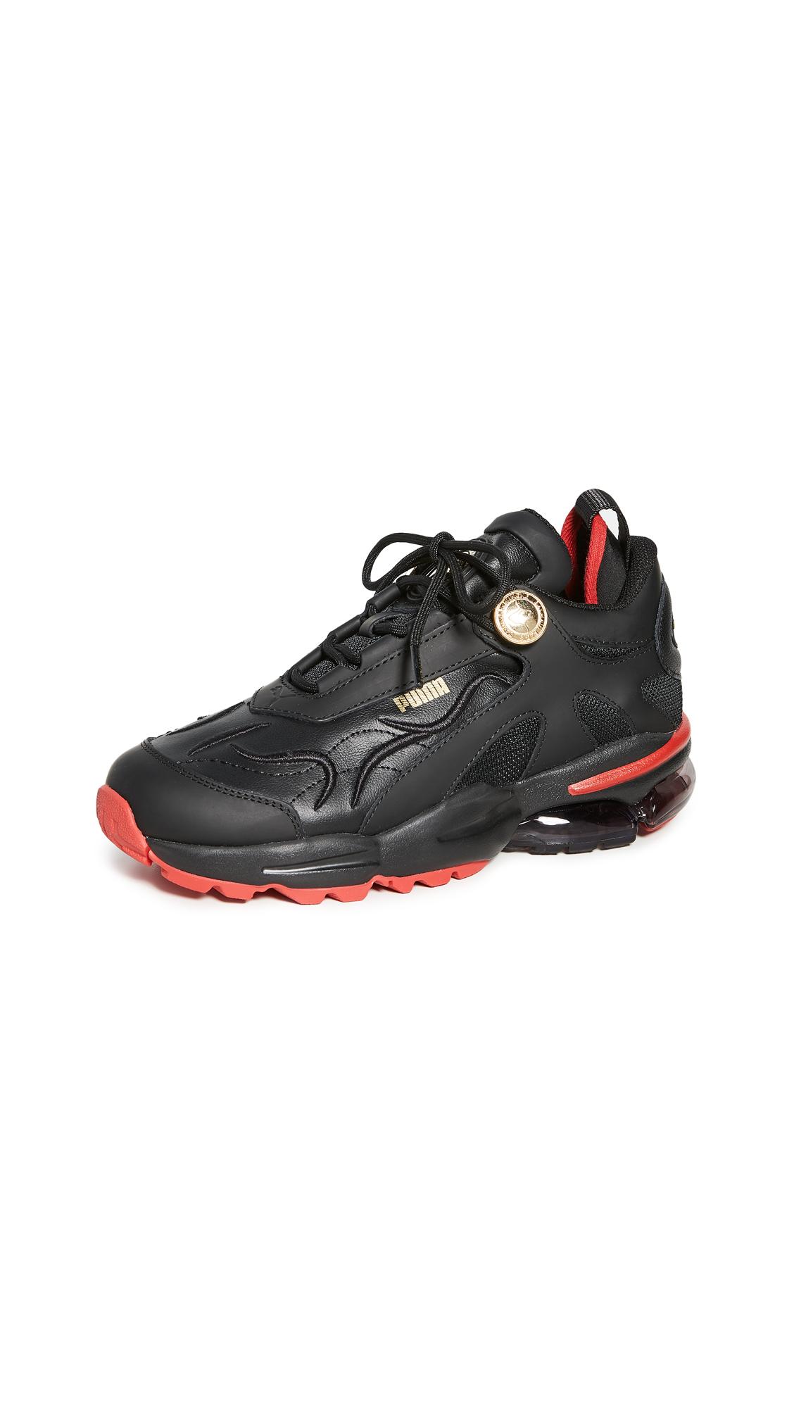 Buy PUMA online - photo of PUMA x Balmain Cell Stellar Sneakers
