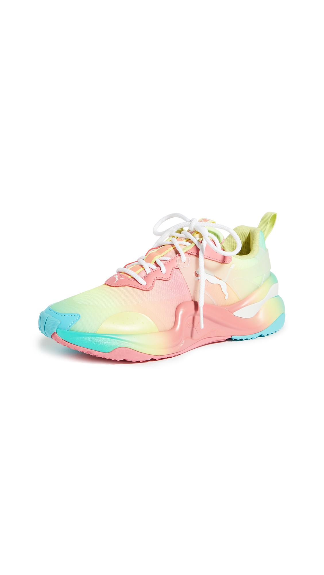 Buy PUMA Rise Tie Dye Sneakers online, shop PUMA