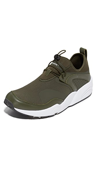 Puma Select Stampd Blaze Of Glory Sneakers - Forest Night