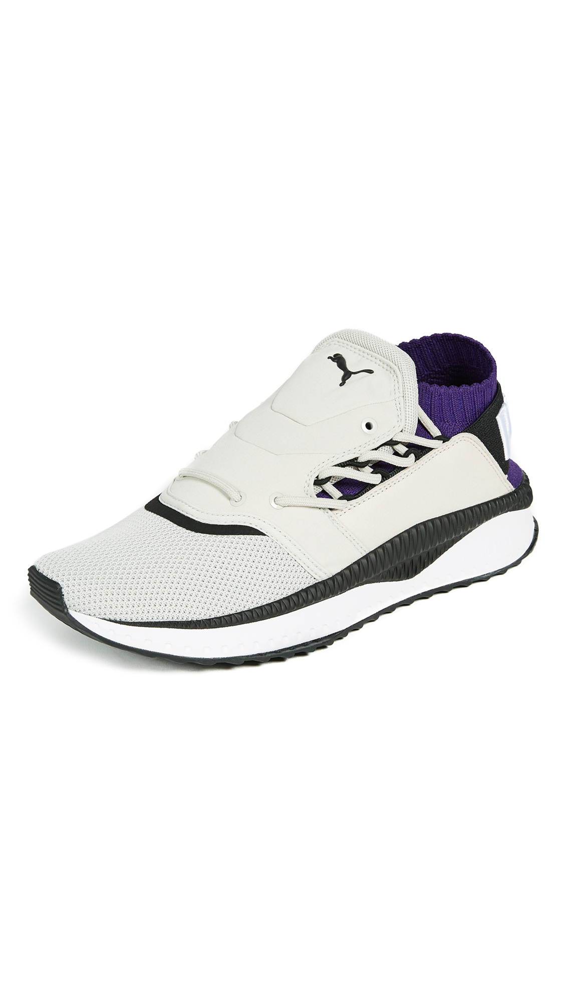 8a5904d5a89e Puma Tsugi Shinsei Dual Sneakers In Grey Grape White