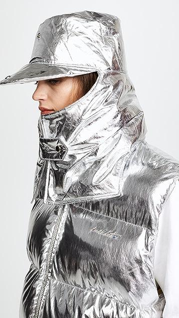 pushBUTTON Metallic Puffer Vest
